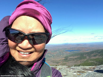 white cross trail, solo hiking, NH 52 with a view, summit selfie