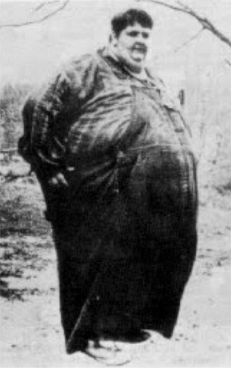 Homme le plus gros du monde