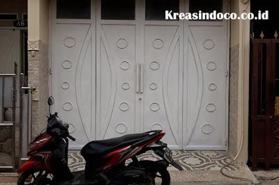 Pintu Lipat ini Sangat Cocok Untuk Garasi Rumah Anda