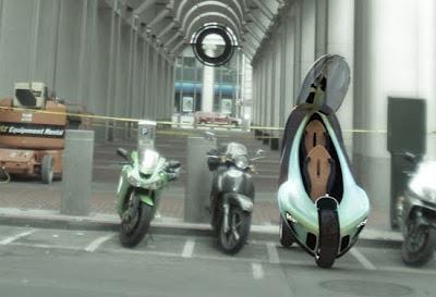Tecnología y diseño industrial en motocicleta