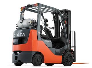 Xe nang Toyota LPG Gasoline