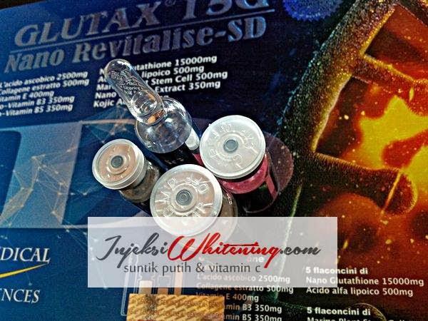 Glutax 15G Nano Revitalise-SD, Glutax 15G Murah, Glutax 15G asli dan Palsu, Glutax 15G Injeksi Whitening