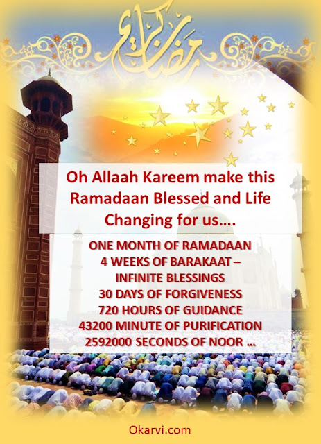 Ramadan :The month of Blessings