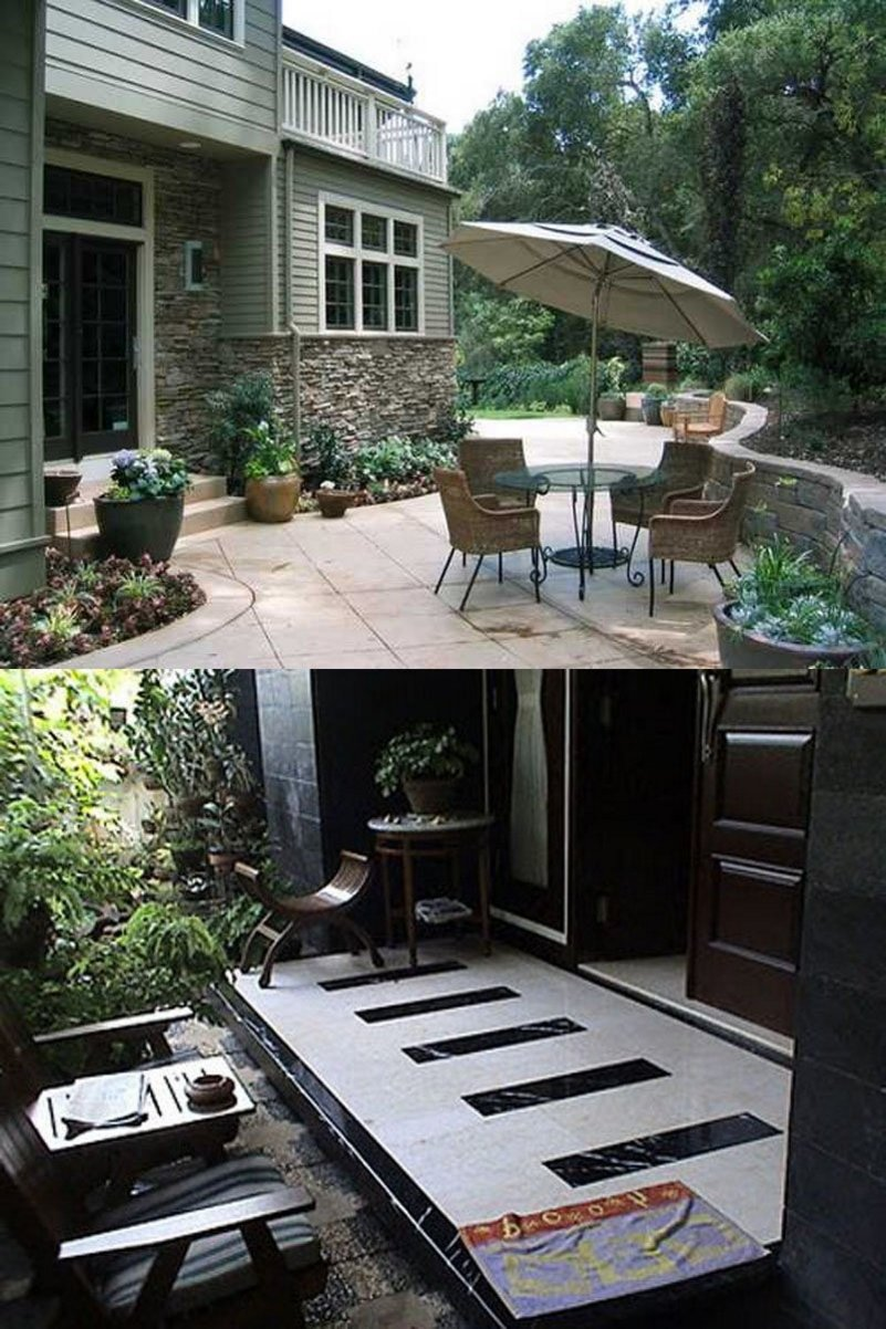 keramik lantai teras rumah minimalis yg terkini