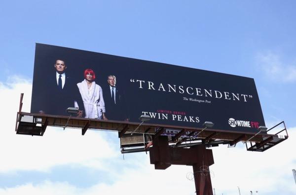 Twin Peaks 2018 Transcendent Emmy FYC billboard