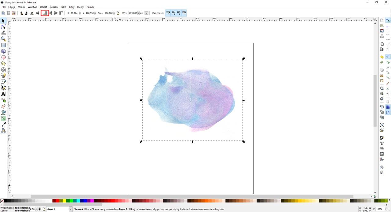 Jak zrobić prosty nagłówek (logo) - napis z teksturą!