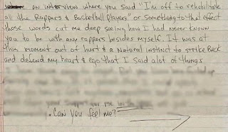 2pac letter to madonna