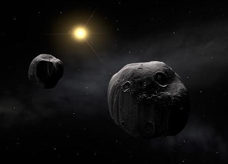 Túl a Plútón, aszteroida