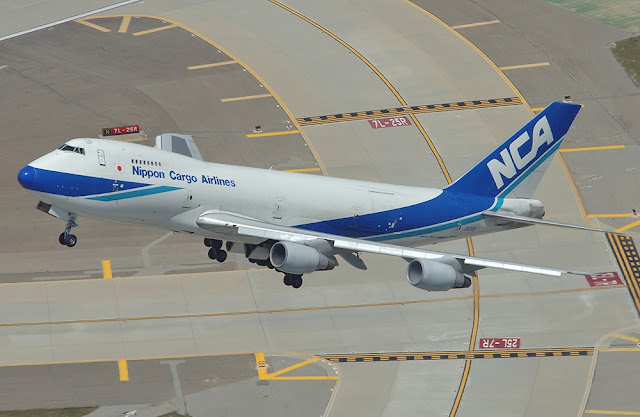 nippon cargo airlines boeing 747-200 freighter