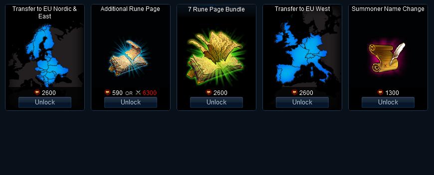 LoL New Server Transfers Available! | NERFPLZ LOL