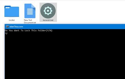 Cara Aman Menyembunyikan Folder dan File dengan CMD
