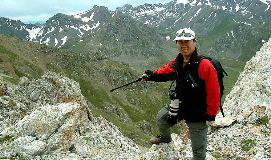 Li Weidong the man who discovered and works to monitor the Ili Pika