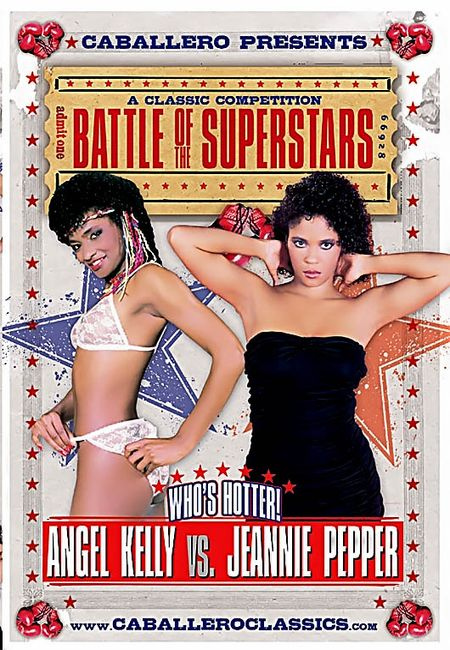 Battle of superstars angel kelly vs jeannie pepper m22