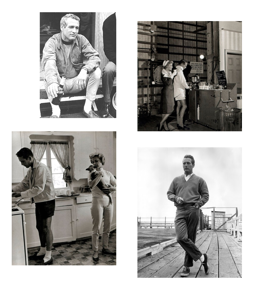 b8a1809fd63 ... Paul Newman fit my number one requirement of a style icon  looking  stylish in a plain white t-shirt. Bonus points for looking badass in  loafers
