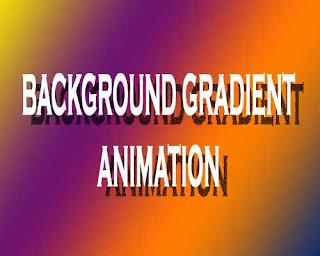 Background Gradient Animation
