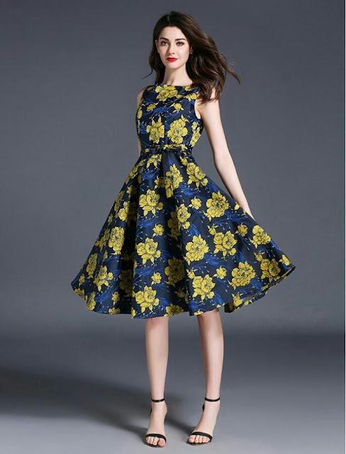 Elegant floral vintage style