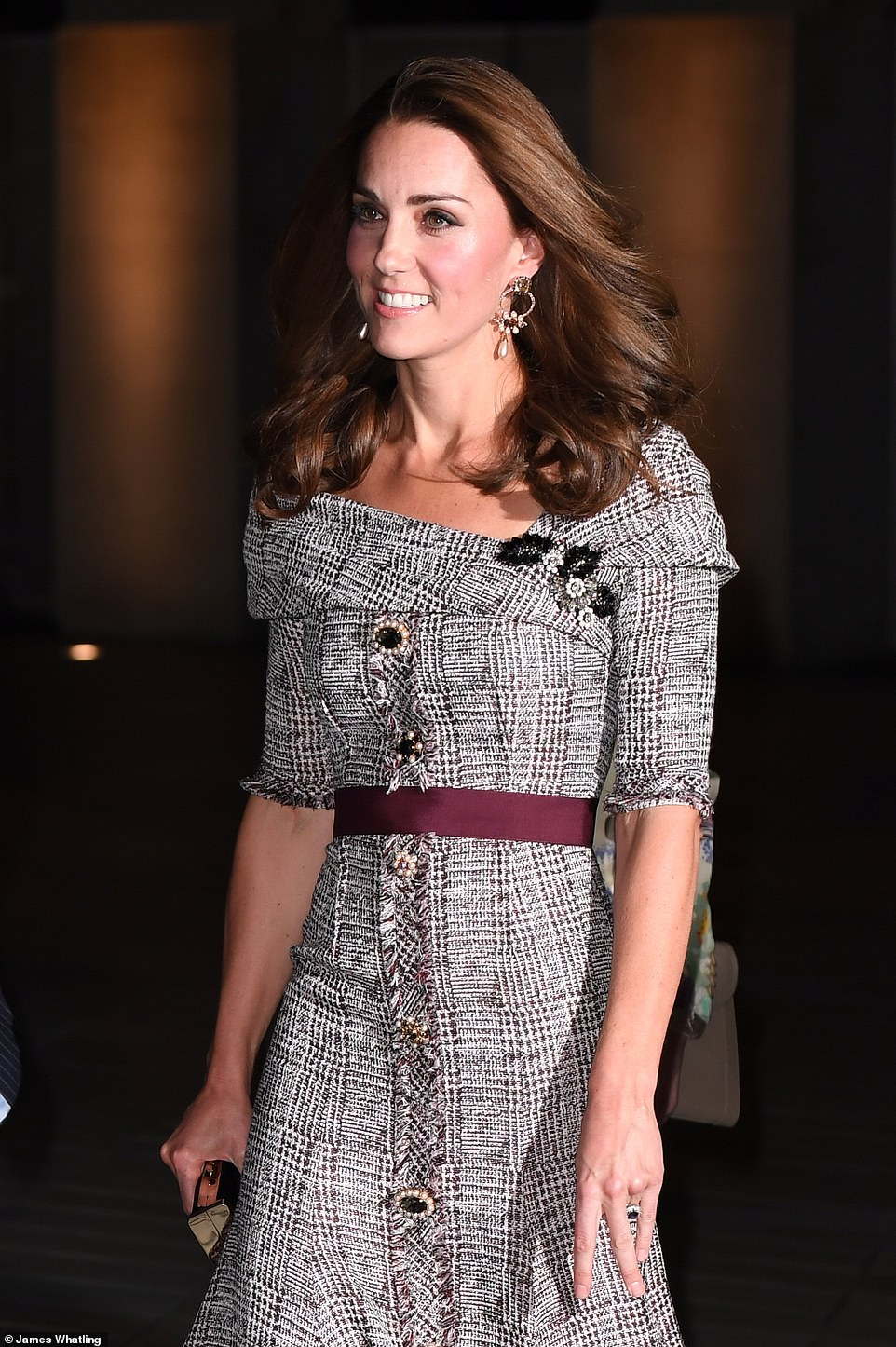 Duchess Kate Visits V&A Museum