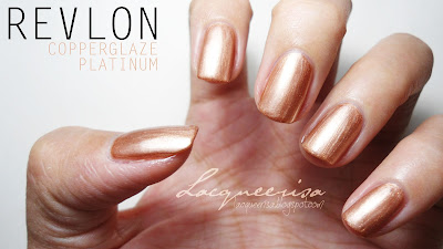 Revlon - Copperglaze Platinum