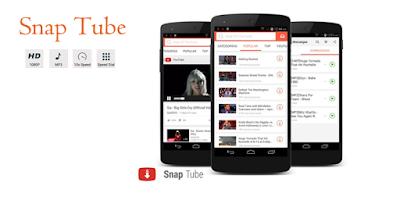 برنامج SnapTube  لتحميل الفيديو من اليوتيوب والفيس بوك