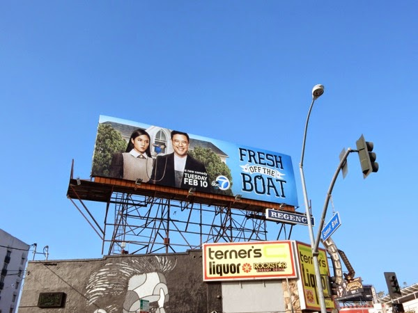 Fresh Off the Boat series billboard