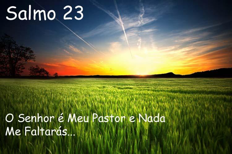 Deus A Luz Maior: O Senhor é Meu Pastor E Nada Me Faltarás