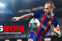 DOWNLOAD PES 2018 Pro Evolution Soccer Mod Apk+Data