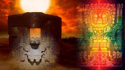 Viracocha, el principal dios venido del cielo de la mitología andina ¿De origen extraterrestre?