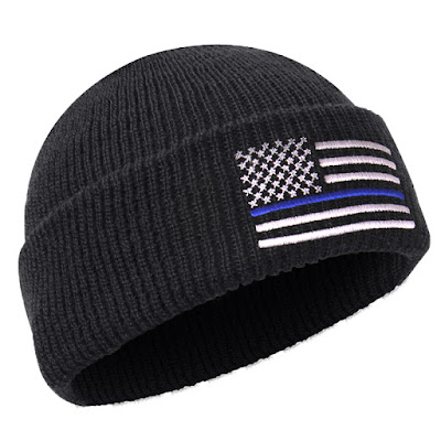 Rothco Deluxe Embroidered Thin Blue Line Watch Cap