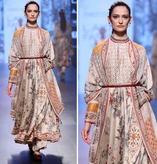 Royal dress with different dupatta draping style , Bhutan Dress