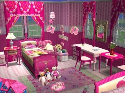 Diseño de Habitaciones de Barbie para Niñas   Infantil Decora