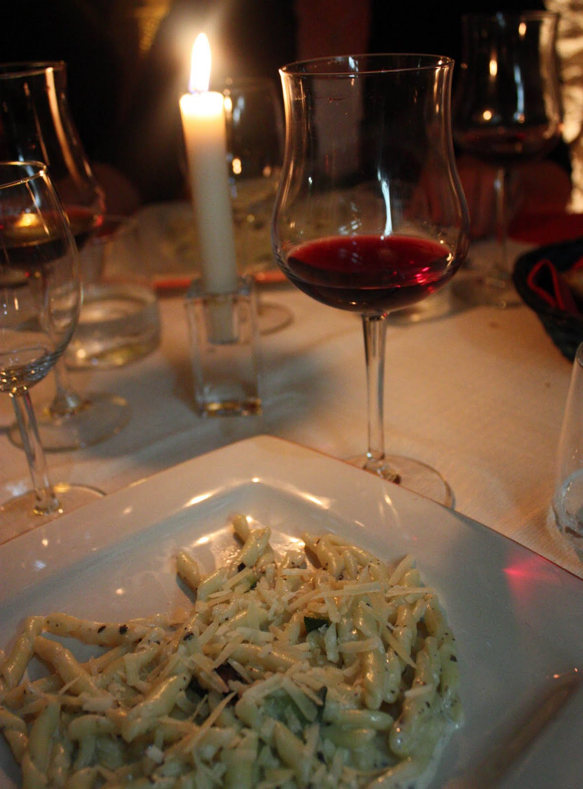 Checking the Did-It Box: Fancy Dinner with Wine Pairings ...