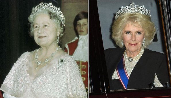 Queen Mother Elizabeth Duchess Camilla tiara