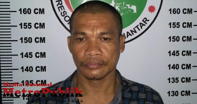 Crispen Dibekuk polisi, Mengedarkan sabu untuk menghidupi keluarganya