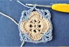 DIY Decoração - Capa Para Banquinho Redondo em Croche Com Barbante - Gráficos e Sugestões 9