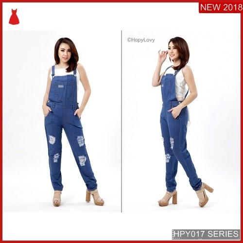 HPY017O78 Overall Jeans Anak Emma Murah BMGShop