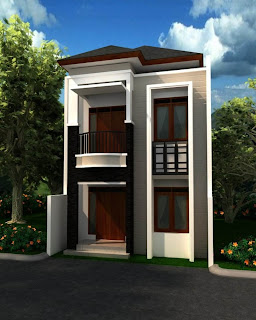 rumah minimalis 2 lantai type 21