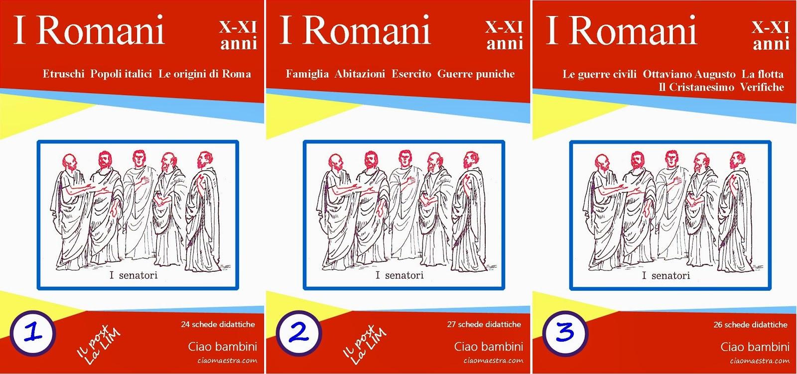 Ben noto Ciao bambini: Storia: Roma PD86
