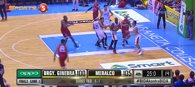 Meralco def. Ginebra, 107-103 (REPLAY VIDEO) October 12 - FINALS Game 3