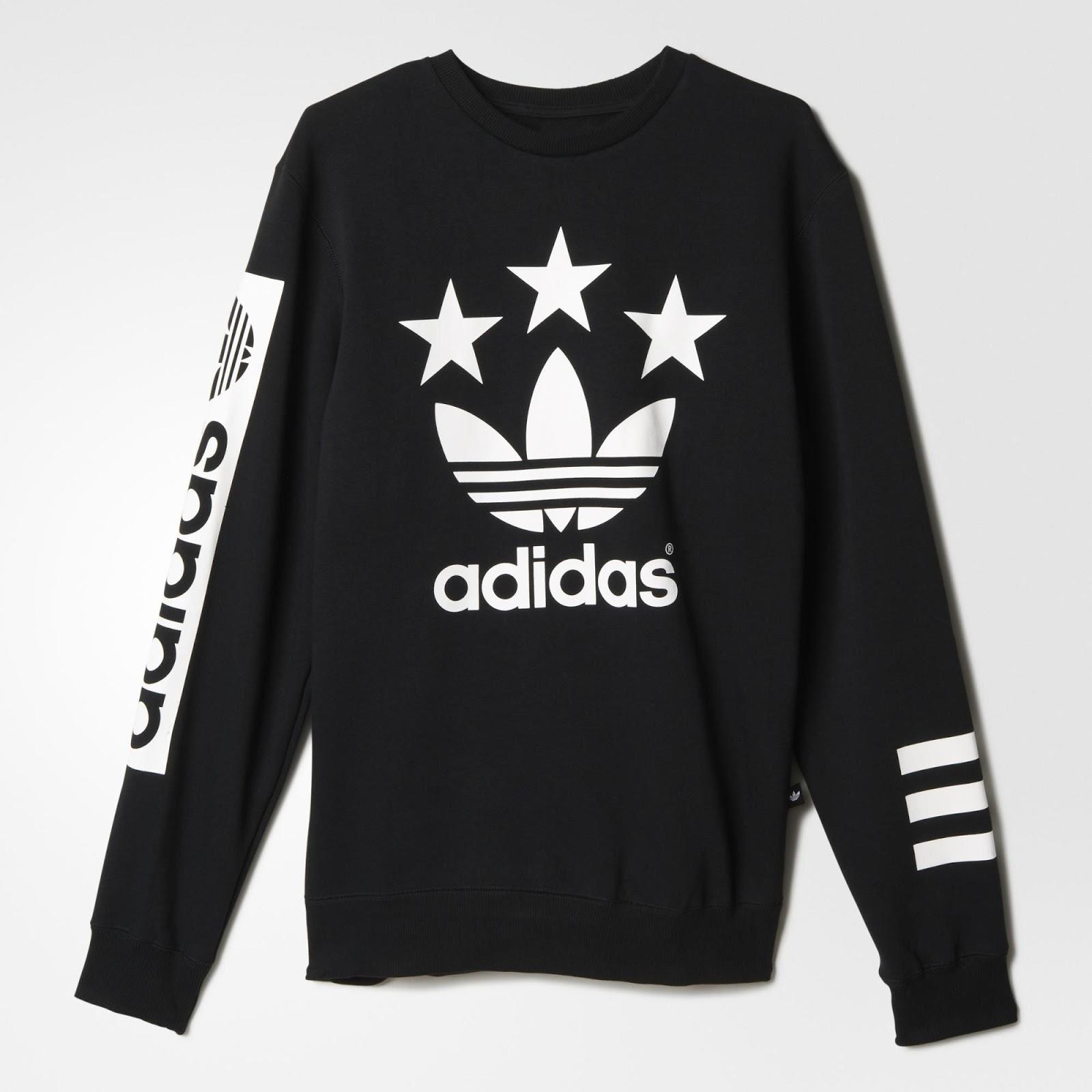 4c4e7b6b680 Sneakers and Streetwear stuff  adidas Originals - Street Logo Crew