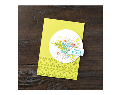Happiness Surrounds by Stampin' Up!