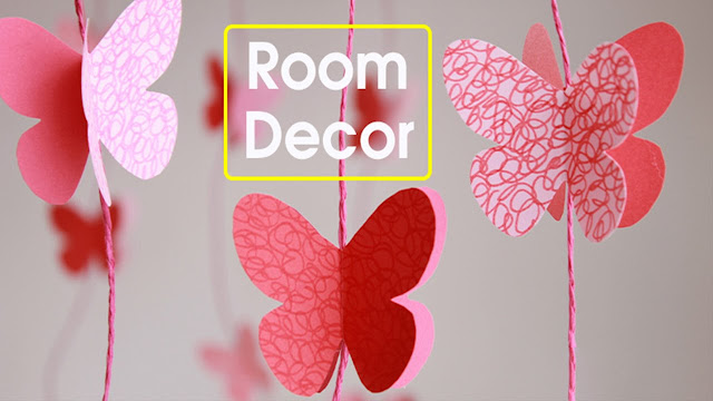 paper crafts, paper butterflies, diy butterflies, room decor, diy decor, diy room decor, diy, decor, crafts, do it yourself