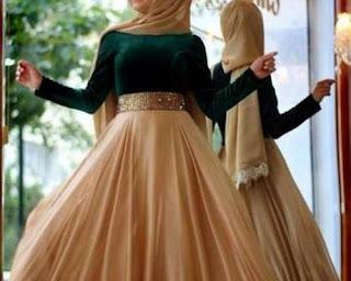model baju hijab kekinian