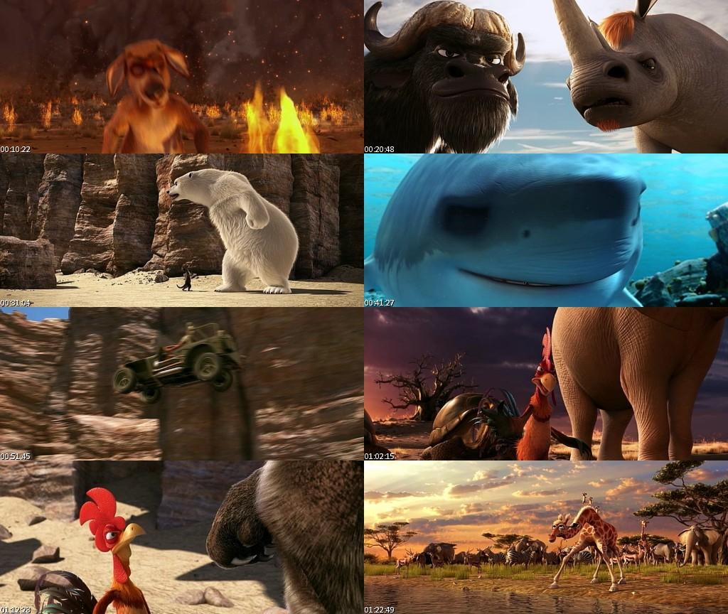 Animals United (2011) [BRScreener] [Español]