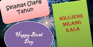 Ucapan Selamat Ulang Tahun Dalam Bahasa Sunda