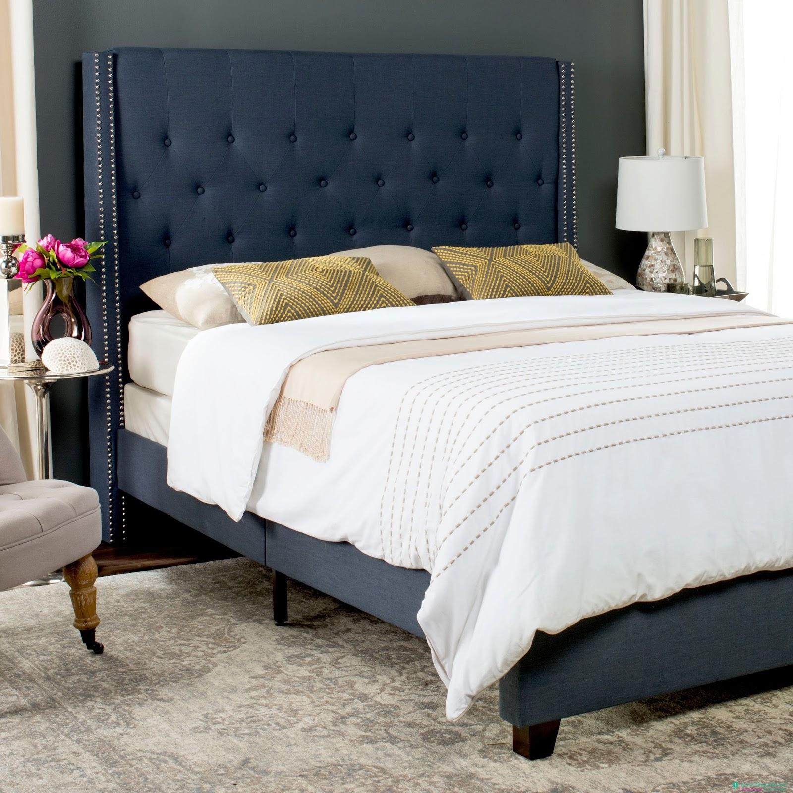 Giường ngủ bọc nệm hiện đại gia đình