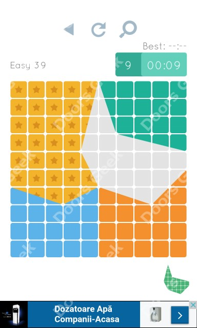 Cheats, Walkthrough for Blocks and Shapes Level 39