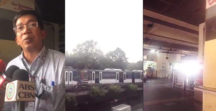 Man jumps on MRT tracks at Guadalupe station