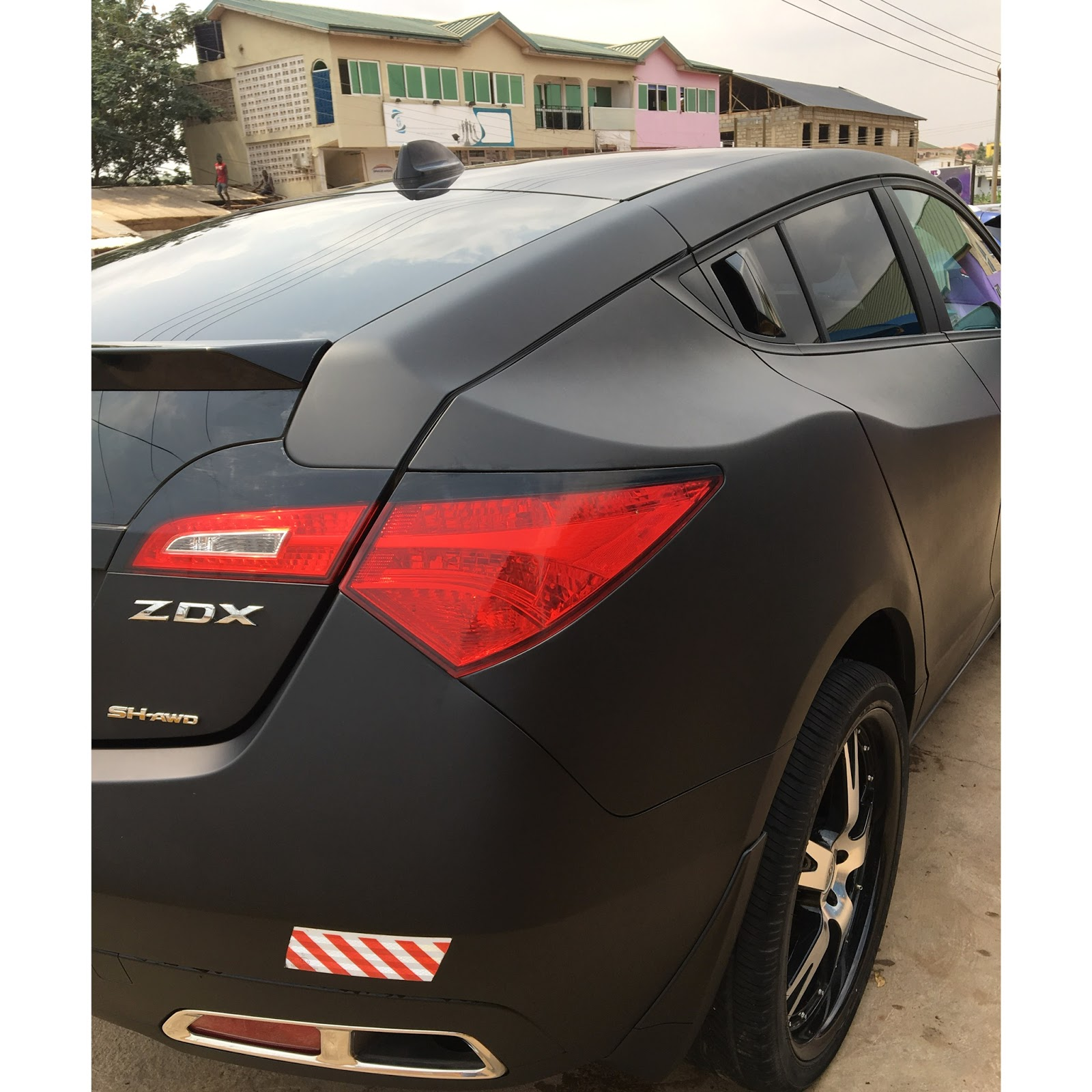 "Afro Pop Singer ""Prymal"" Acquires Brand New 2016 Acura ZDX"