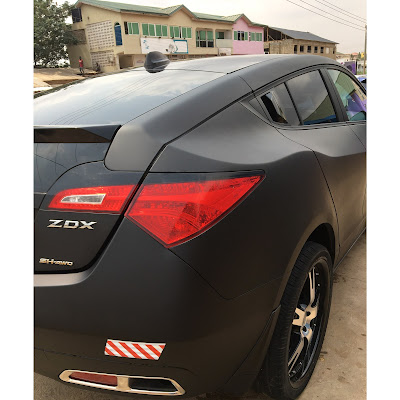 Afro Pop singer ?Prymal? acquires brand new 2016 Acura ZDX
