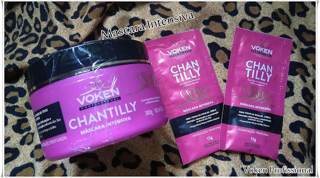 Linha Chantilly Voken Profissional ( Recebidos)